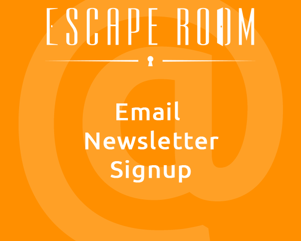Email Sign up NM Escape Room