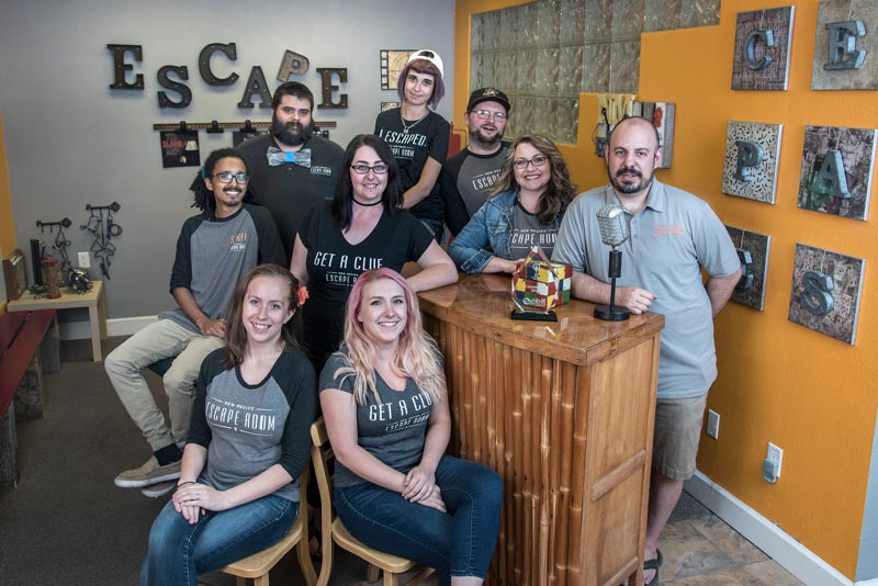 NM Escape Room Staff
