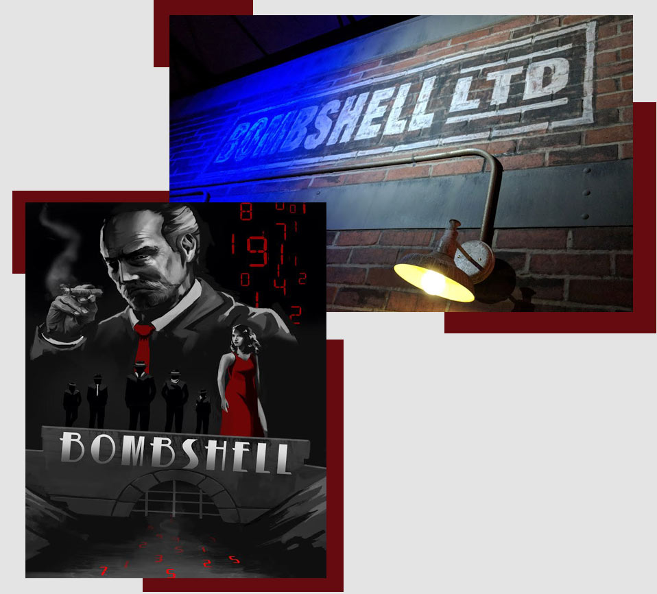 bombshell escape room